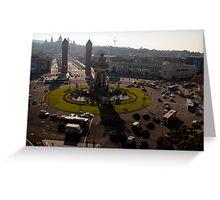 Placa Espana Greeting Card