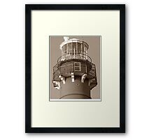 Top of Barnegat Lighthouse Framed Print