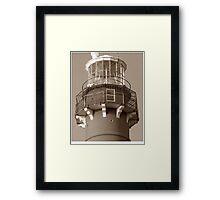 Top of Barnegat Lighthouse Framed Print