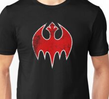 Rebel Bat (Distressed) Unisex T-Shirt