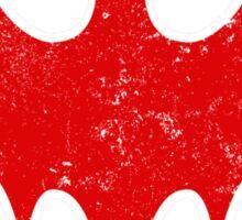 Rebel Bat (Distressed) Sticker