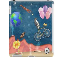 Space junk with meerkats iPad Case/Skin