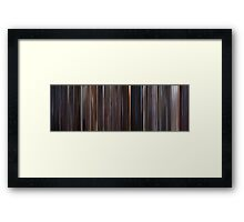Moviebarcode: E.T.: The Extra-Terrestrial (1982) Framed Print