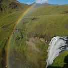 Skógafoss rainbow by lukasdf