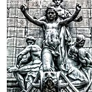 Columbus Circle Statue by Robin Black