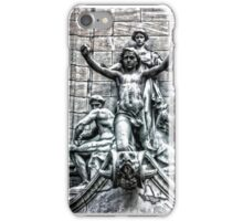 Columbus Circle Statue iPhone Case/Skin