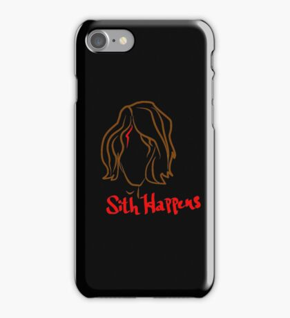 Sith Happens iPhone Case/Skin