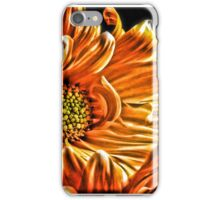 Orange Daisy iPhone Case/Skin