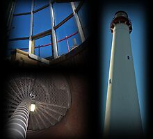 Three of Cape May Lighthouse by Scott Brookshire