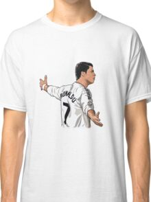 Cristiano ronaldo Real madrid cartoon Classic T-Shirt