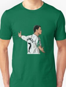 Cristiano ronaldo Real madrid cartoon T-Shirt