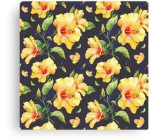 Cute Flower Pattern Canvas Print