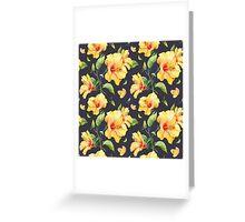 Cute Flower Pattern Greeting Card