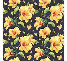 Cute Flower Pattern Photographic Print