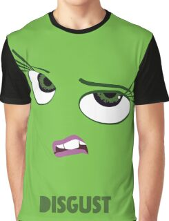Inside Out of Disgust Graphic T-Shirt