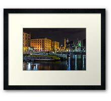 Brilliant Boats and Buildings Framed Print