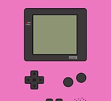 Gameboy Pocket ! (Pink) by vxspitter