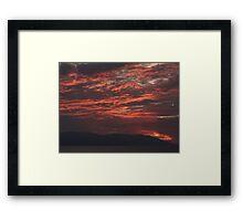 Winter - Light, Sky, Ocean III - Invierno - Luz, Cielo, Oceano Framed Print