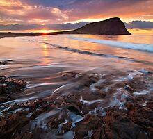 El medano sunrise by Raico Rosenberg