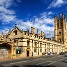 Magdalen College - Oxford, England by Yhun Suarez