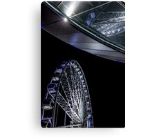 Liverpool Wheel and Arena Canvas Print