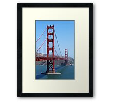 San Francisco Golden Gate Framed Print