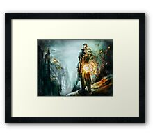 Warrior of the day Framed Print
