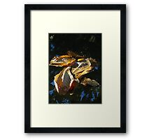 Leaves - Hojas Framed Print