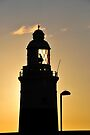 Lighthouse, Gibraltar by David Carton
