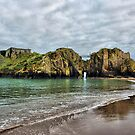St Catherines Island Tenby by Lilian Marshall
