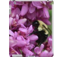 Bumble Bee in Redbud iPad Case/Skin
