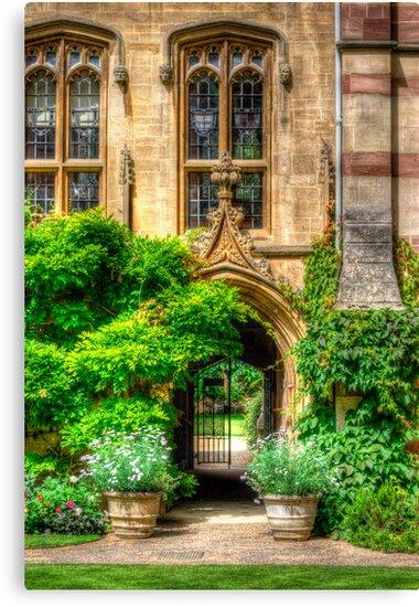 College Garden - Oxford, England by Yhun Suarez