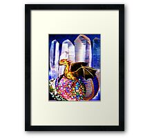 Dragons Lair, Pandora Framed Print