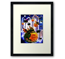 Dragons Lair, The Departure Framed Print