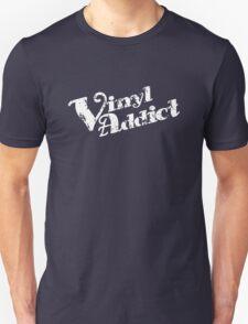 Vinyl Addicted (text) T-Shirt