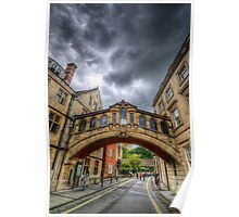 Bridge Of Sighs - Oxford, England Poster