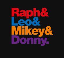 Raph & Leo & Mikey & Donny. Unisex T-Shirt