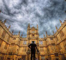 Divinity School - Oxford, England by Yhun Suarez