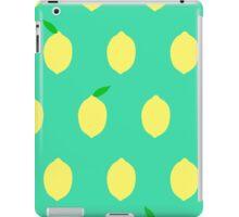 Cute Lemon Pattern iPad Case/Skin