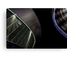 The arena and the wheel Canvas Print