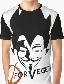 Vegeta V Graphic T-Shirt
