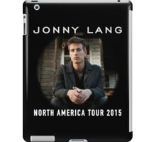 NEW JONNY LANG TOUR 2015 MRTR iPad Case/Skin