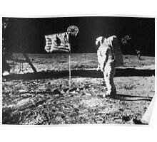 Metroid Moon Landing Poster