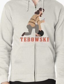 The Big Tebowski Zipped Hoodie