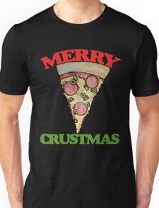 Merry CRUSTmas pizza christmas Unisex T-Shirt