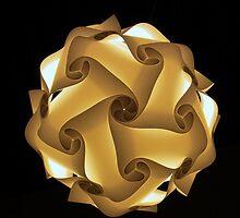 Lantern of paper by George Salazar