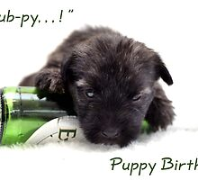 Puppy pub-py birhday by Victoria Willcocks