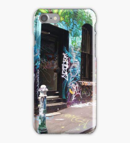 Graffiti Lane iPhone Case/Skin