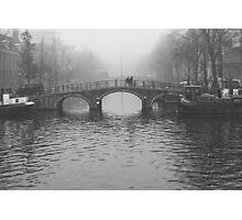 On the bridges of Amsterdam Photographic Print