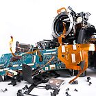 Broked DSLR camera by Maxim Mayorov